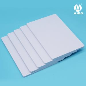 China 8mm PVC co-extruded foam sheet with high glossy surface on sale