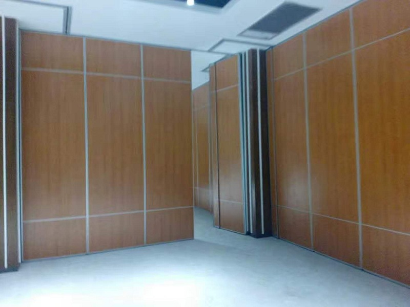 Interior Wood Folding Doors Office Acoustic Room Dividers