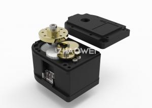 China 4V-7VDC Low Noise Micro Servo Gearbox Motor for RC Robot Model Airplane on sale