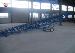 China Flame Retardant Mobile Conveyor Belt For Thermal Power Plant Rubber on sale