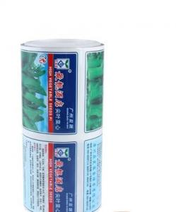 China Heat sealed customized OPP laminated food grade plastic film roll on sale