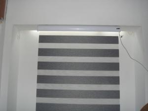 Polyester Fabric Electric Roller Blind Waterproof Inside Outside Dc 1310