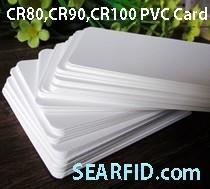 China CR80 PVC Card, CR90 PVC Card, CR100 PVC Card, used for Card Printer, Encapsulate RFID Card on sale