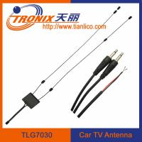 China active car tv antenna with amplifier/ active uhf vhf tv signal amplifier TLG7030 on sale