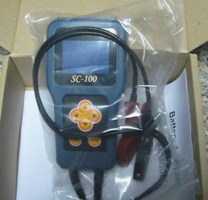China 12V Car Battery Tester Battery Analyzer SC-100 Cold Starting Current Tester on sale