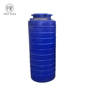 China Blue Color Round 250 Gallon Plastic Water Storage Tanks For Liquid Feed Storage on sale
