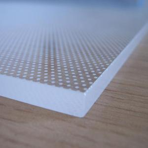 China PC Light Eco Frendly 1.2mm Plastic Acrylic Sheet on sale