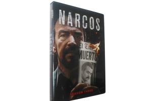 China Narcos Season 3 DVD Latest Movie TV Crime Action Series DVD For Family US/UK Edition on sale