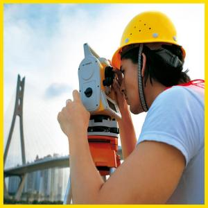 China Robotic total station survey instrument for long distance measuring on sale