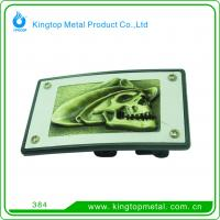 China Customize square belt buckle for men on sale