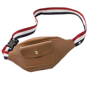 China WHOLESALES Fanny Pack USA Flag Stripes Waist Bag Belts Sack Customized Bag Making Supplier for Promotional Marketing on sale