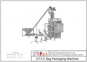 China Automatic Vertical Form Powder And Filling Packing Machine For Pharmacy / Flour Powders on sale