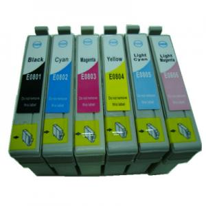 China Inkjet Cartridge Compatible for Epson T0801/T0802/T0803/T0804/T0805/T0806 on sale