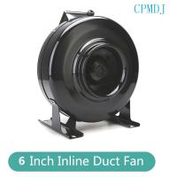 China 6 Inch Ducted Fan Motor / Small Automatic Greenhouse Extractor Oscillating Circulation Inline Fan For Grow Tent on sale