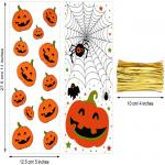 Clear Cellophane CPP 3mils Halloween Treat Bags With Twist Ties