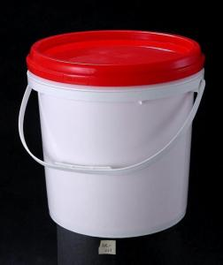 Quality Large 16kg Pe Pp Plastic Barrels With Lids Handles For Paint Containers