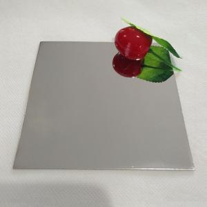 China hot selling 8k mirror stainless steel sheet no.8 finish sus 201 304 flat sheet free samples available on sale