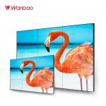 1080P TV LCD Video Wall Panels Solution 55 Inch Super Narrow Bezel LED