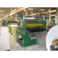 China 0.3-1.5x1300mm Green Carbon Steel Cut To Length Line Machine on sale