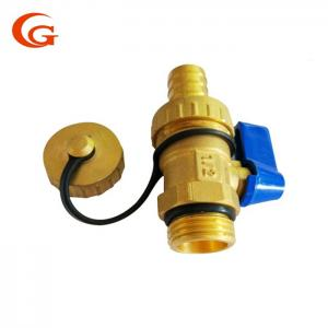 China 1/2'' Brass Air Vent Valve , CNC Brass Gas Shut Off Valve on sale