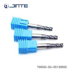 10mm Carbide End Mill 4Flute HRC45 TiAIN Coat CNC Milling Cutter Bits For Steel