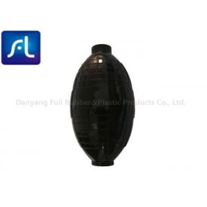 Black Environmental Protection Air Puffer Bulb , OEM Orders Rubber Air Blower