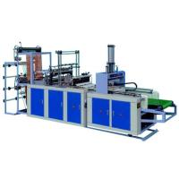 China DGF-700 fully automatic plastic shopping bag making machine, t-shirt bag, vest bag on sale