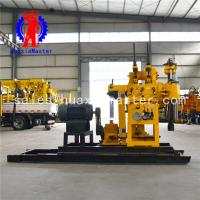 China Supply HZ-200YY hydraulic water well drilling rig diesel powered 200 m hydraulic well drill machine price on sale