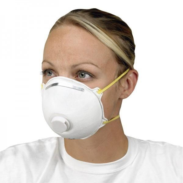 Non Activated Woven Filter N95 Carbon Respirator Dust