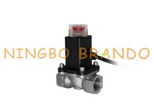 China 9V 12V Emergency Automatic Shut-Off Solenoid Valve For Gas Line 1 1/2 3/4 Inch on sale