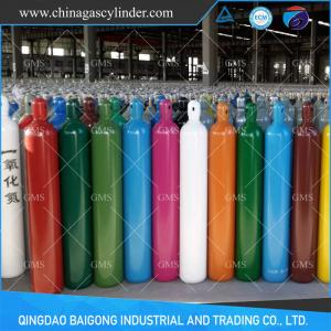 China 40L seamless steel oxygen/argon/nitrogen/CO2/helium gas cylinder supplier