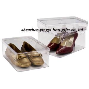 China clear shoe box wholesale on sale