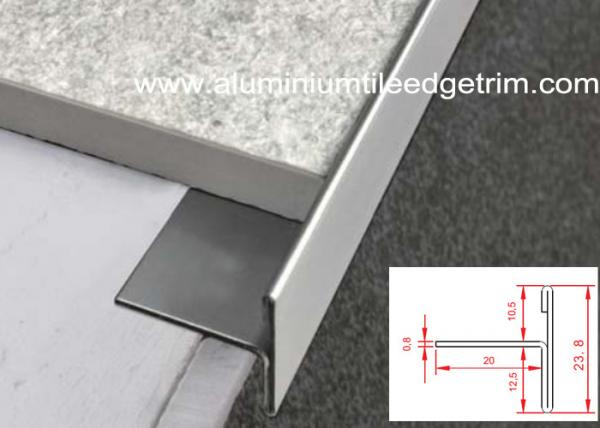 T Shaped Stainless Steel Tile Trim