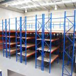 1000kg/Sqm Q235B Steel Warehouse Mezzanine Floors 2.5mm Thickness