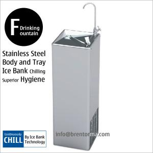 China DF27C Stainless Steel Water Cooler Freestanding Drinking Fountain on sale