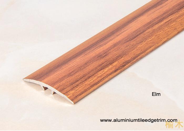 Wood Effect Laminate Floor Metal Edging