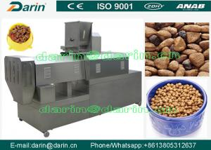 China Fish Farm Stainless Steel 304 Pet Food Extruder Machine CE ISO 9001 on sale