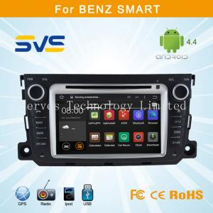 China Android 4.4.4 car dvd player for Benz Smart car radio gps navigation system car audio on sale