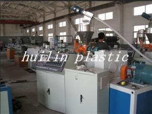 China Double Screw PVC Pipe Making Machinery on sale