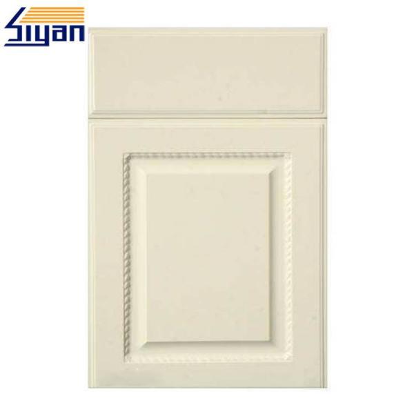 White Wood Mdf Kitchen Cabinet Doors