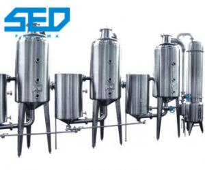 China Double Effect Herbal Extraction Equipment For Evaporating Concentrating Liquid Material on sale