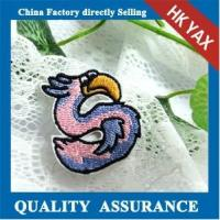 China china cheap clothing embroidery patches;wholesale supplier custom embroidery patch;hot sale iron on embroidery patch on sale