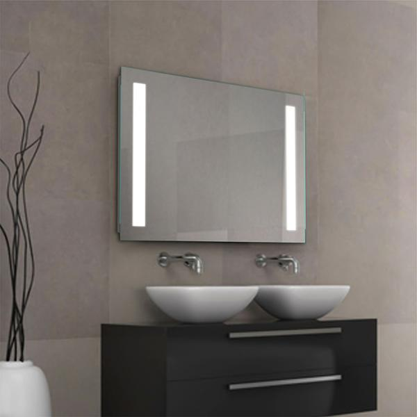 Led Bathroom Backlit Mirror With Shelf 2018 New Steel Glass Shelf Light Mirror For Sale Led Bathroom Wall Mirror Manufacturer From China 108674884