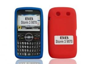 China Silicone Protective Cell Phone Cover Cases for BlackBerry 9570 on sale