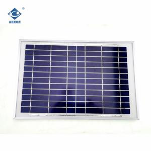 China ZW-10W-12V high power pvt solar thermal hybrid panel 10W 12V Glass Laminated solar panel on sale