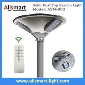 20w 2000lm Solar Post Top Garden Lights