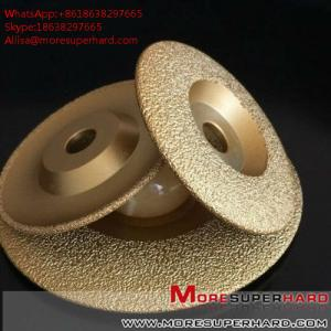 China Vacuum Brazed Diamond Grinding Disc for marble and granite  Alisa@moresuperhard.com on sale