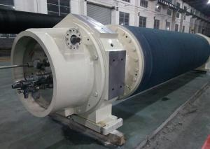 China Strong Dewatering Capacity Vacuum Touch Roller For Crescent Tissue Paper Machine on sale
