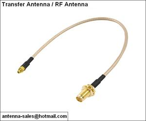 China MMCX to SMA male header transfer tie line antenna for communication on sale