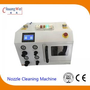 China Big Capacity Nozzle Cleaning Machine , Smt Cleaning Equipment Using Liquid Purified Water on sale